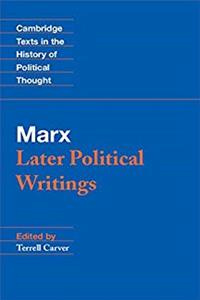 Marx: Later Political Writings (Cambridge Texts in the History of Political Thought) ePub download