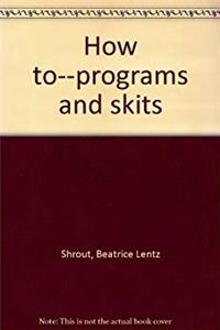 How to--programs and skits ePub download