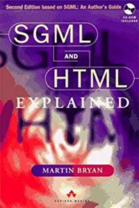 SGML and HTML Explained ePub download