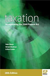 Taxation: incorporating the 2009 Finance Act ePub download