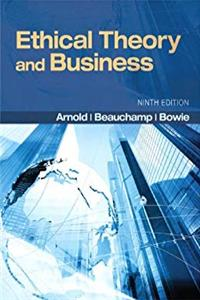 Ethical Theory and Business (9th Edition) ePub download