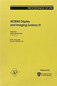 Moems Display And Imaging Systems III (Proceedings of Spie) ePub download