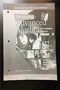 Discovering Advanced Algebra, An Investigative Approach to Algebra 2: More Practice Your Skills Student Workbook ePub download