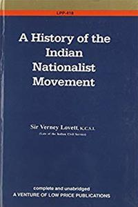 A History of the Indian Nationalist Movement ePub download
