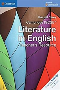 Cambridge IGCSE Literature in English Teacher's Resource (Cambridge International IGCSE) ePub download